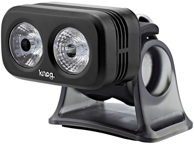 Knog Blinder Road 250 - Luces para bicicleta - LED blanco negro/transparente